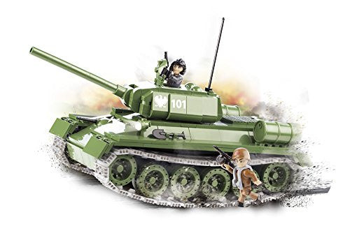 400 PCS SMALL ARMY /2452/ T-34/85