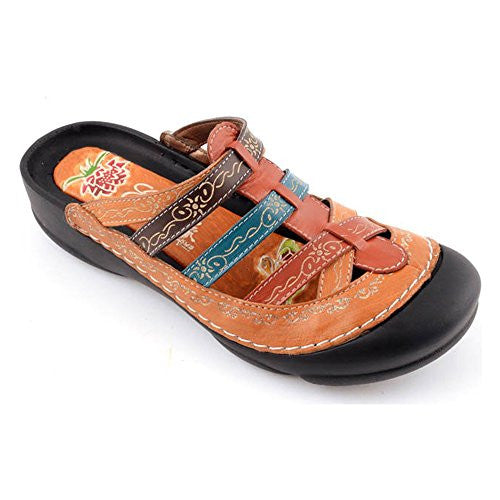 Rock Women's Sandals - Amber Size 9