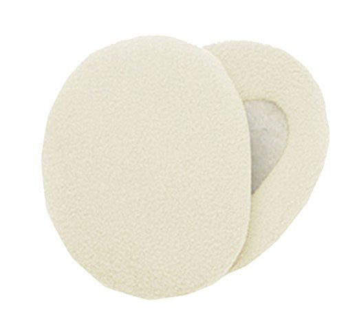 Earbags Thinslte Fleece Blk Md 563001,Small,Cream