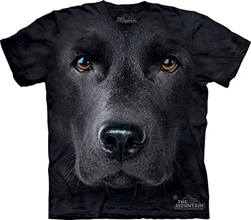 Black Lab Face, Loose Shirt - Adult X-Large