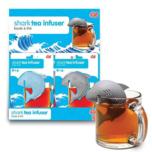 DCI Shark Tea Infuser, Colors May Vary ,Set of 2