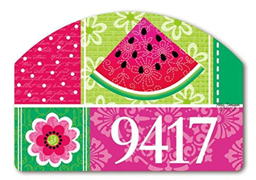 "Watermelon Welcome Yard Design, 14"" x 10"""