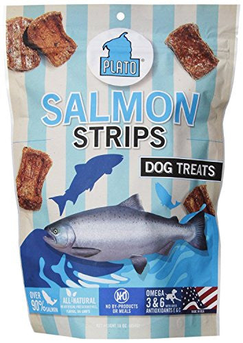 Plato Treats - Salmon Treats (6 per case)