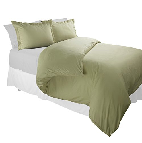 1800TC Duvet Covers Queen Sage