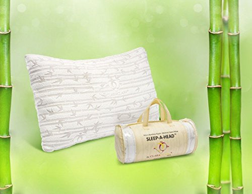 Bamboo Memory Form Gel Pillow Queen