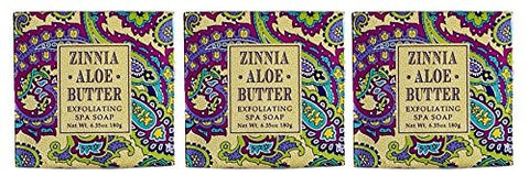 ZInnia Aloe Butter Soap Square - 6.35oz