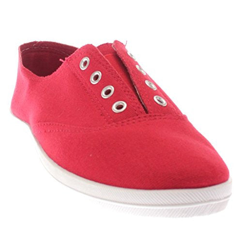 Marsden-63 Women's Casual Sneakers, Red, Size 8