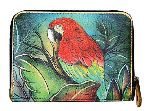 Tropical Bliss Zip Around Credit Card Case