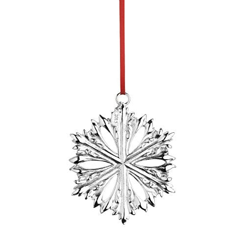 Silver Snowflake Series 3rd Edition D. 3¼˝, Silverplate