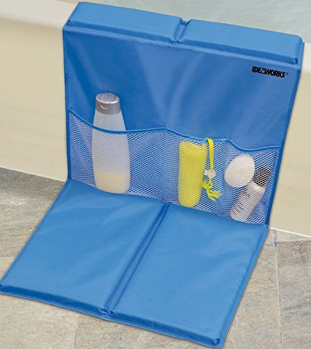 Ideaworks Bathtub Caddy With Kneeling Pad