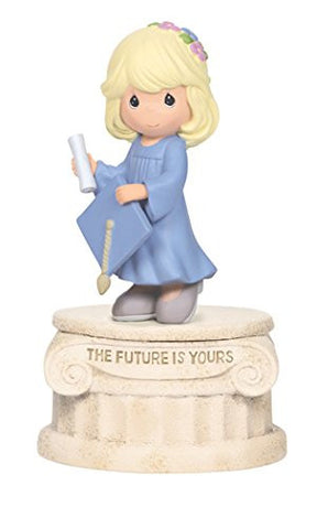 """The Future Is Yours"" Musical Tune: Pomp And Circumstance Material: Resin, 5.75"""