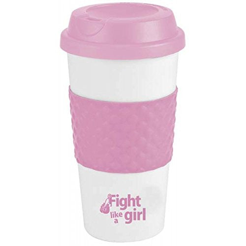 """Fight Like A Girl"" Breast Cancer Awareness 19.0oz Double Wall Insulated Tumbler"""