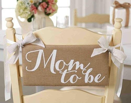 Mom To Be Chair Hanger/Sign