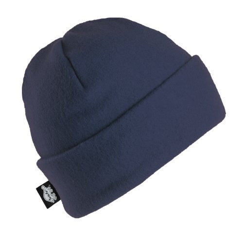 Original Turtle Fur Fleece - The Hat, Heavyweight Fleece Watch Cap Beanie (Navy / One Size)