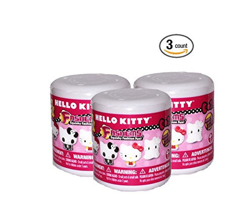 Hello Kitty Mash'Ems Mini Figure Toy - Random Design (Pack of 3)