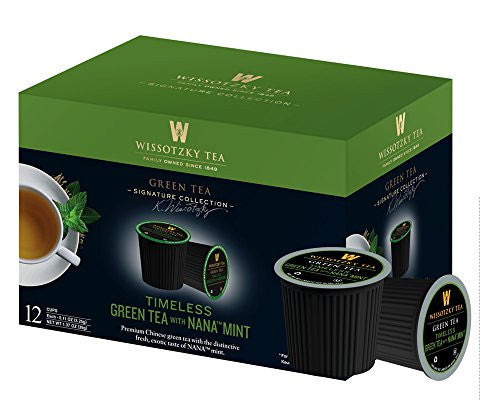 Wissotzky Timeless Green Tea With Nana Mint