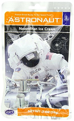 Astronaut Neapolitan Ice Cream .7oz