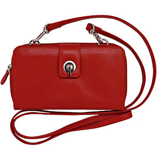 Wallet/Smartphone Case/Crossbody - Red