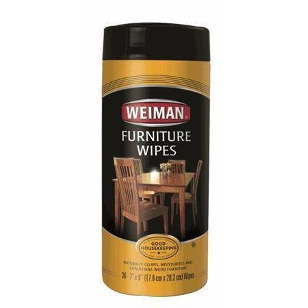Weiman Furniture Wipes 30 count