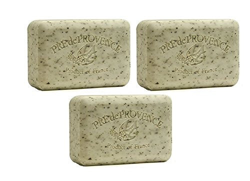 Daily Essentials Shea Butter Enriched Bar Soap - Mint Leaf, 250g (Pack of 3)