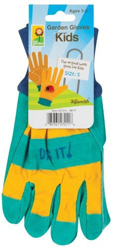 Toysmith Kids Garden Gloves, Assorted Colors, Small Model: 27211