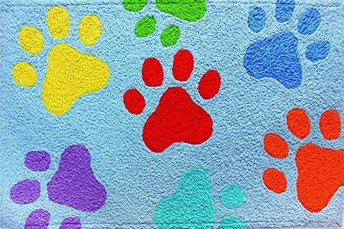 "Colorful Paws 21"" x 33"""