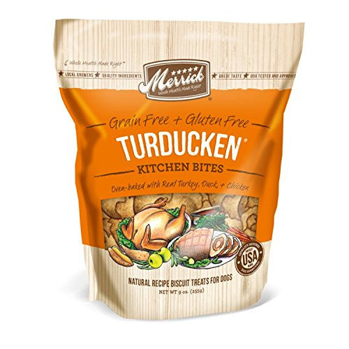 Merrick™ Natural Kitchen Bites - Turducken 9 Oz Pouch