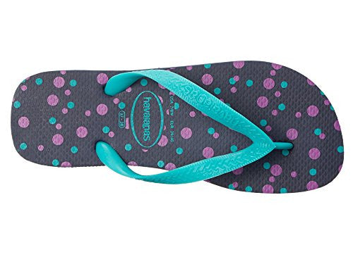 Women's Top Fresh Flip Flops - Navy Blue, Size 6 US