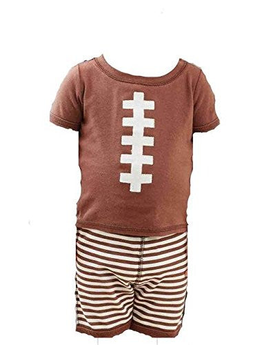 Football Two-Piece Set, Size 2T