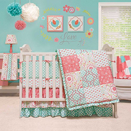 CRIB BEDDING SET - Mila