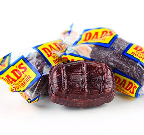 Dad's Old-Fashioned Root Beer Barrels Candy, 10 Lb. Case