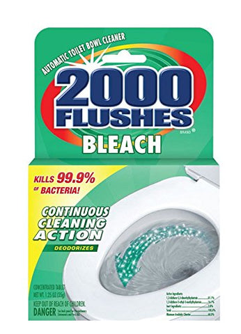 2000 Flushes Bleach, Single Pack