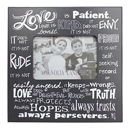 Love is Patient Frame 11x11