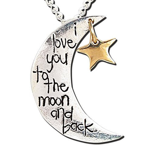 I Love You to the Moon & Back 18-Inch Necklace
