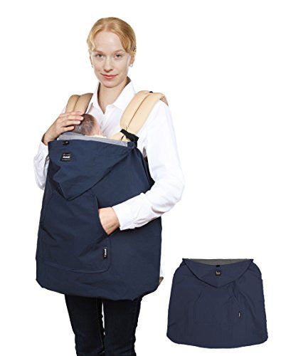 Manito Wind-Ban Baby Carrier Windbreaker (Navy)