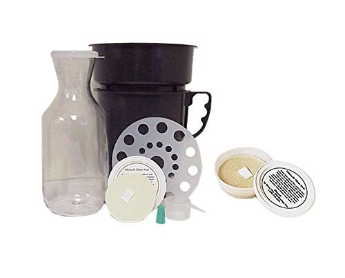 """Filtron 30L Cold Water Coffee Concentrate Brewing System & 2 Filtron FIlter Pads with storage container 2 per pack"