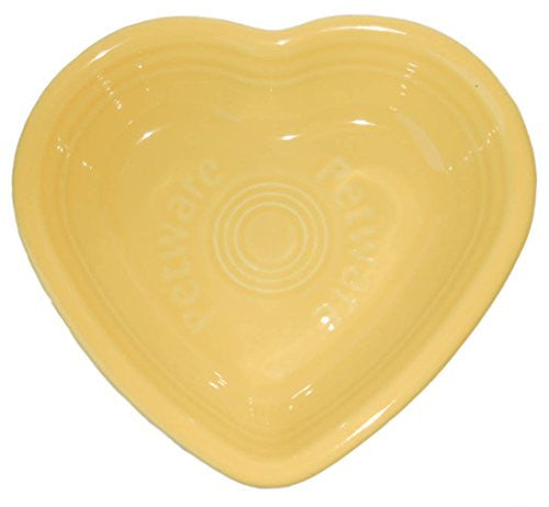 Fiesta Petware - Vitrified Porcelain Heart Bowl(Sunflower)