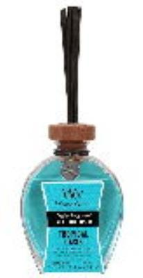 "WoodWick Tropical Oasis 3.0 oz Reed Diffuser, 3.25"" x 1.75"" x 8.25"""