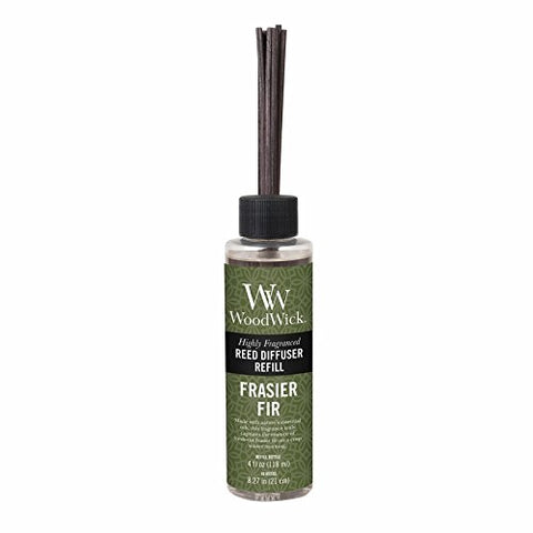 "WoodWick Frasier Fir 4.0 oz Reed Refill, 1.88"" x 1.63"" x 8.25"""