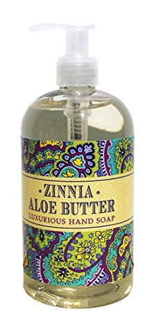 Zinnia Aloe Butter Hand Soap 16 fl oz