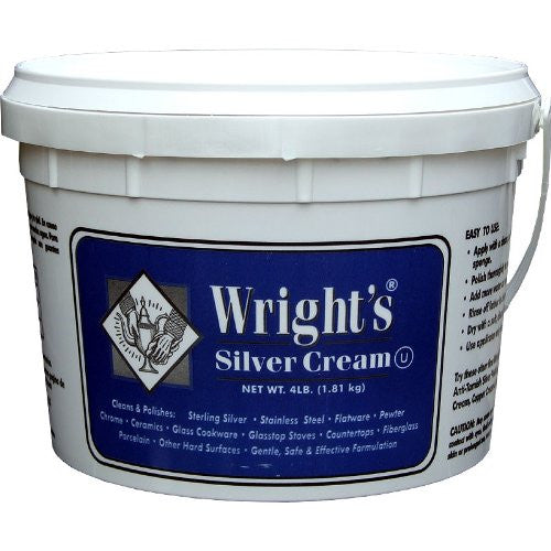 Wrights Siver Cream 4 lb. Tub
