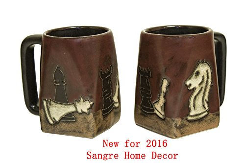 Chess Square Bottom Mug 12 Oz.