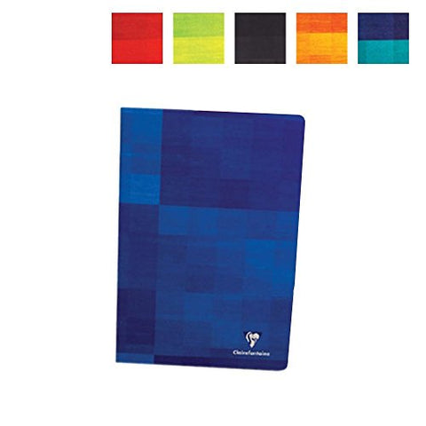 Clairefontaine Classic Notebooks Side Staplebound 8 ¼ x 11 ¾ in. Lined Assorted Covers 40 sheets