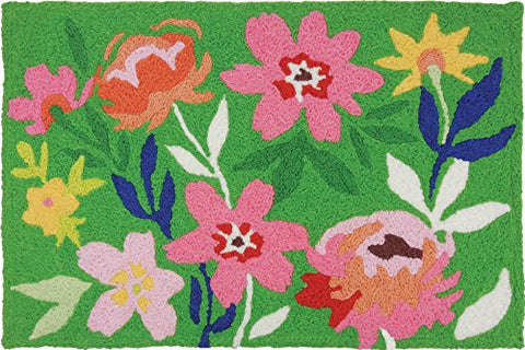 "Wildflowers, Jellybean Rug 21"" x 33"""
