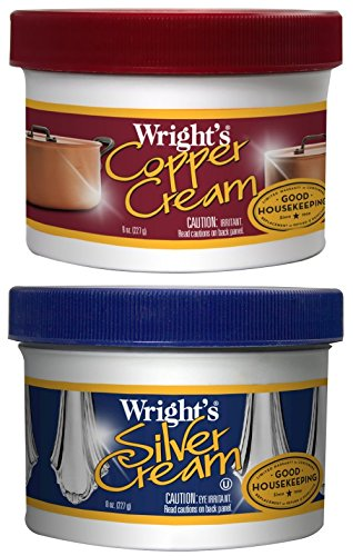 Wrights Silver Cream 8 oz. and Wrights Copper Cream 8 oz.