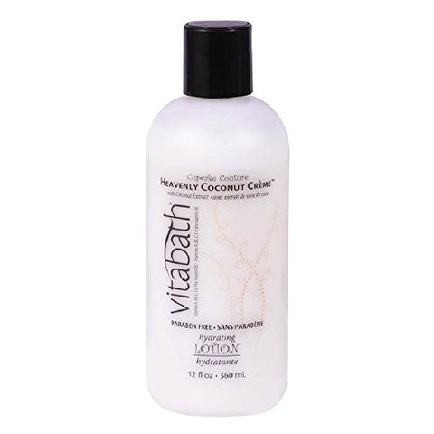 VB Fragrance Collection - Heavenly Coconut Crème Hydrating Body Lotion, 12 oz