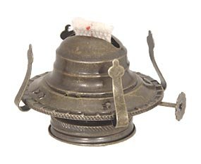 #2 Kerosene Burner w/Antique Brass Finish
