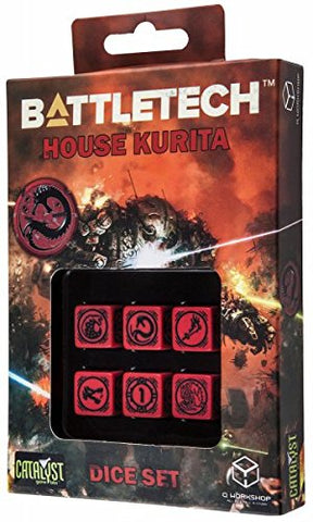 Battletech - House Kurita D6 Dice set (6)