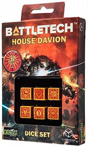 Battletech - House Davion D6 Dice set (6)