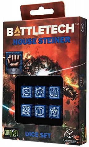 Battletech  - House Steiner D6 Dice set (6)